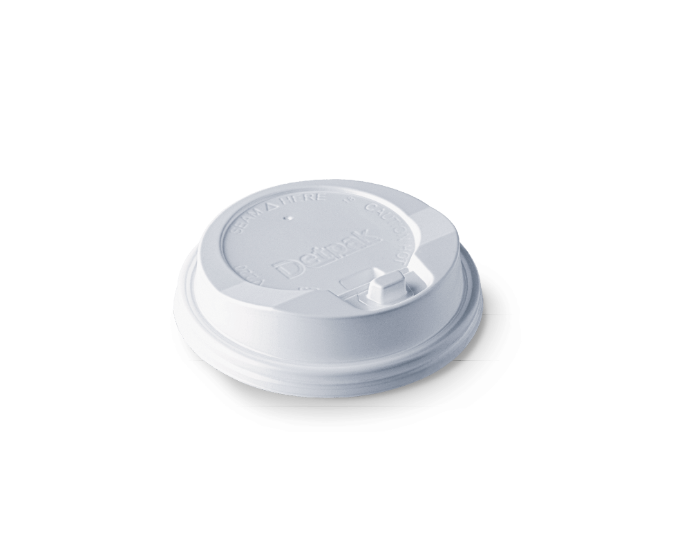 250ml Click-close hot lid (packed 1000)
