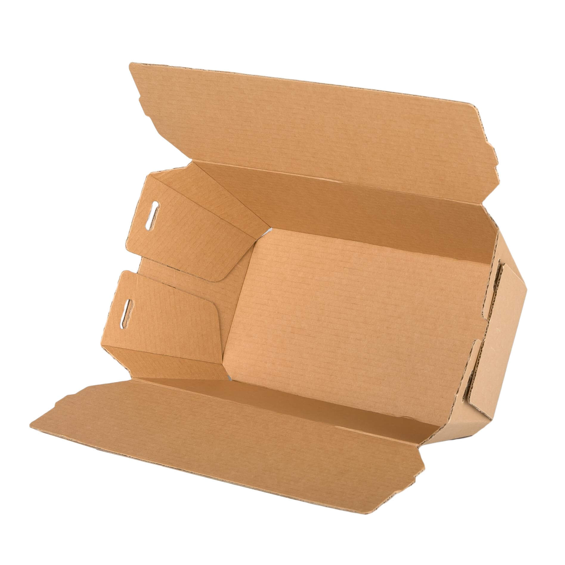 Large fluted Meal box (packed 150)