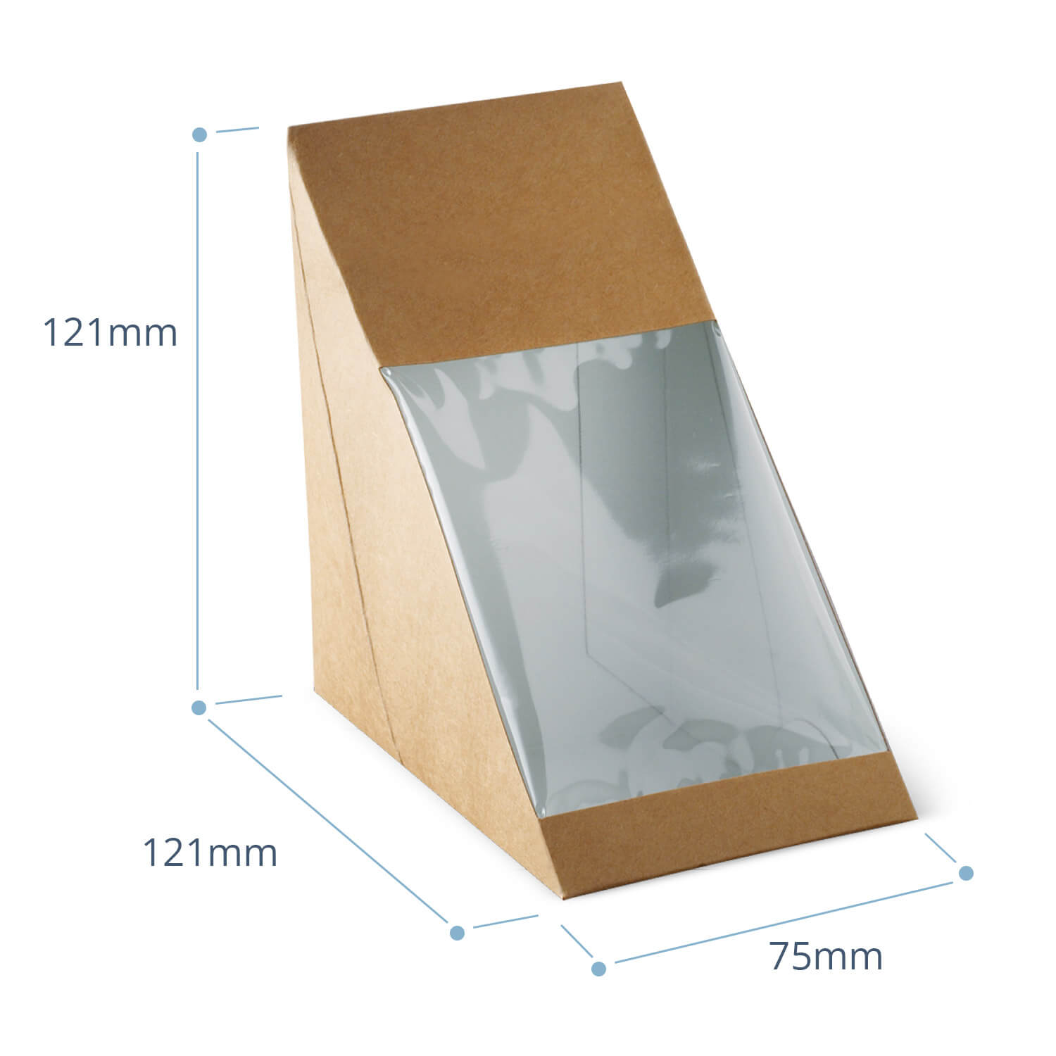 ECO Base Loading Sandwich Wedge Brown (packed 600)