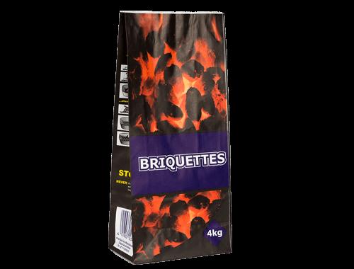 Briquette Bag 4kg (100 bags)