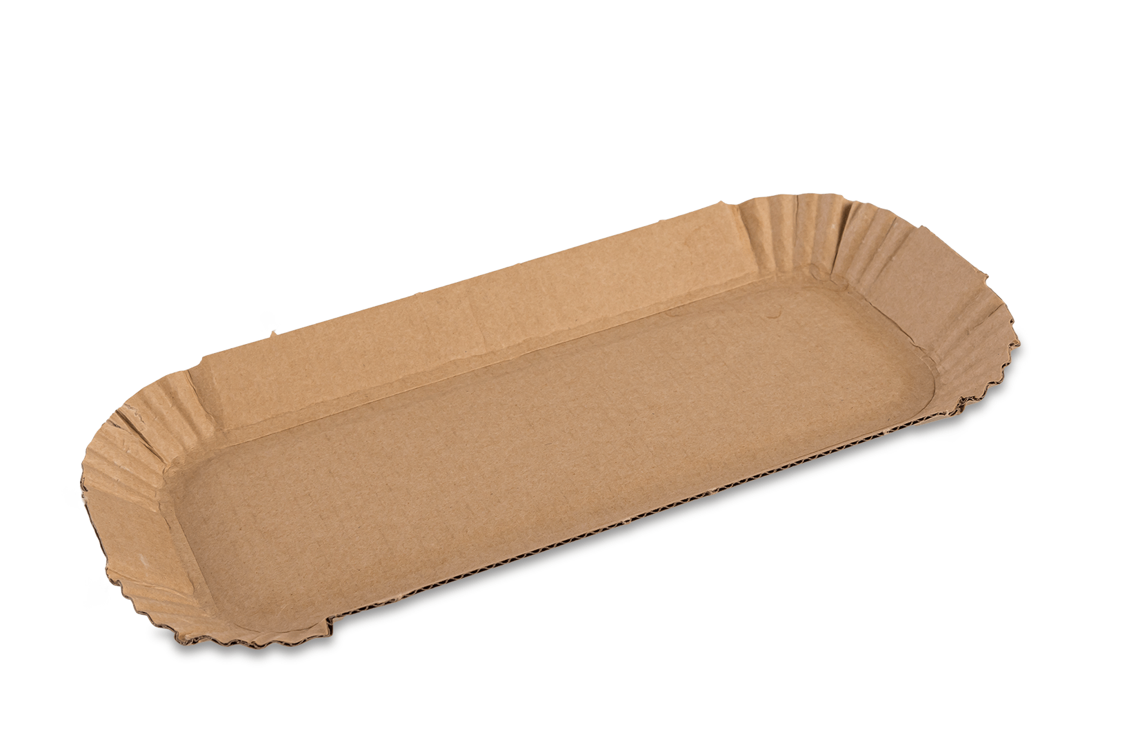 Fluted Hot Dog Tray (packed 200)