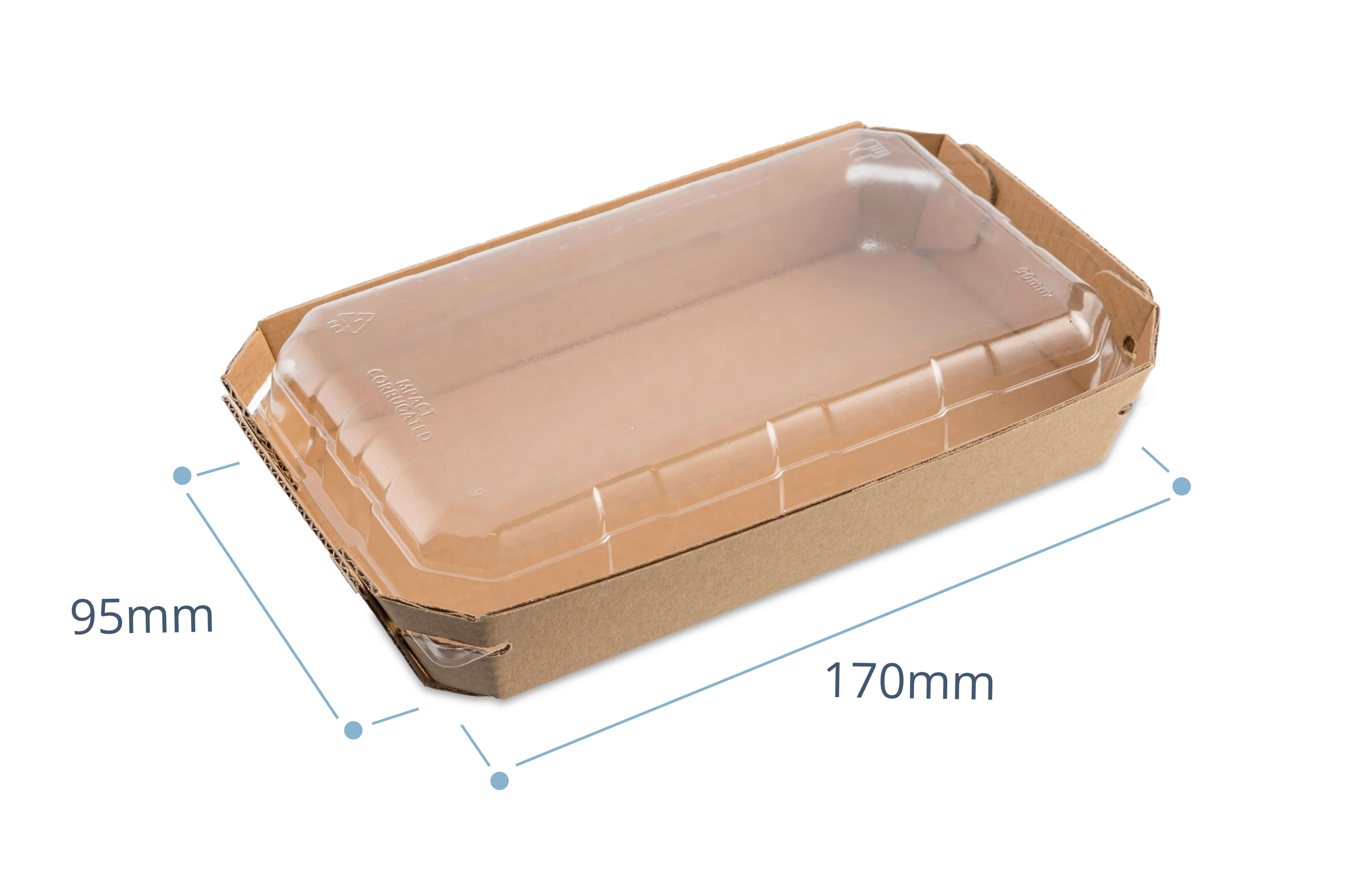 Small tray with lid (packed 200)