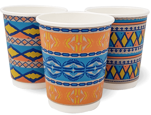 12oz Double Wall African Spirit Cup