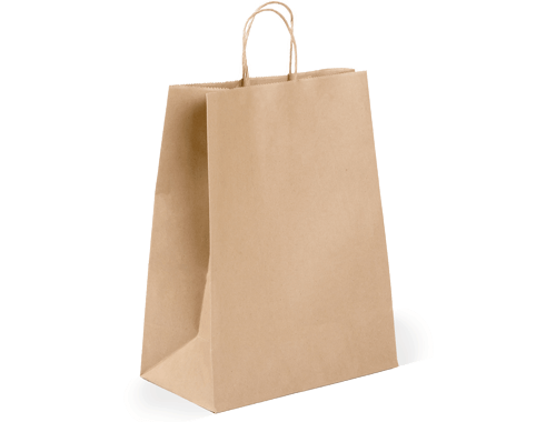 Heavy Duty Shopper with Twist Handle