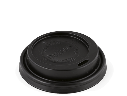 12/16oz Hot Cup Black Lid